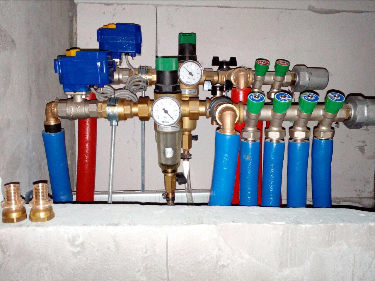 Коллекторная разводка водоснабжения в квартире