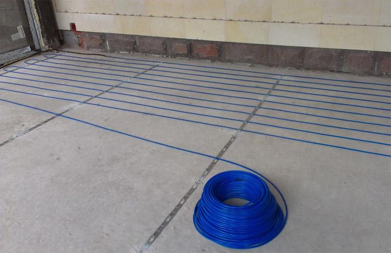 Теплый электрический пол кабель