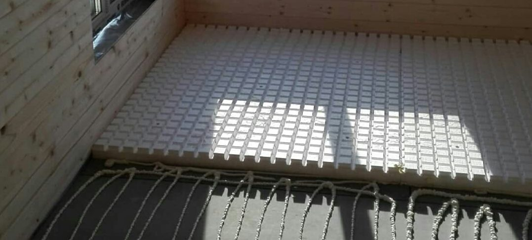 Устройство теплых водяных полов в доме