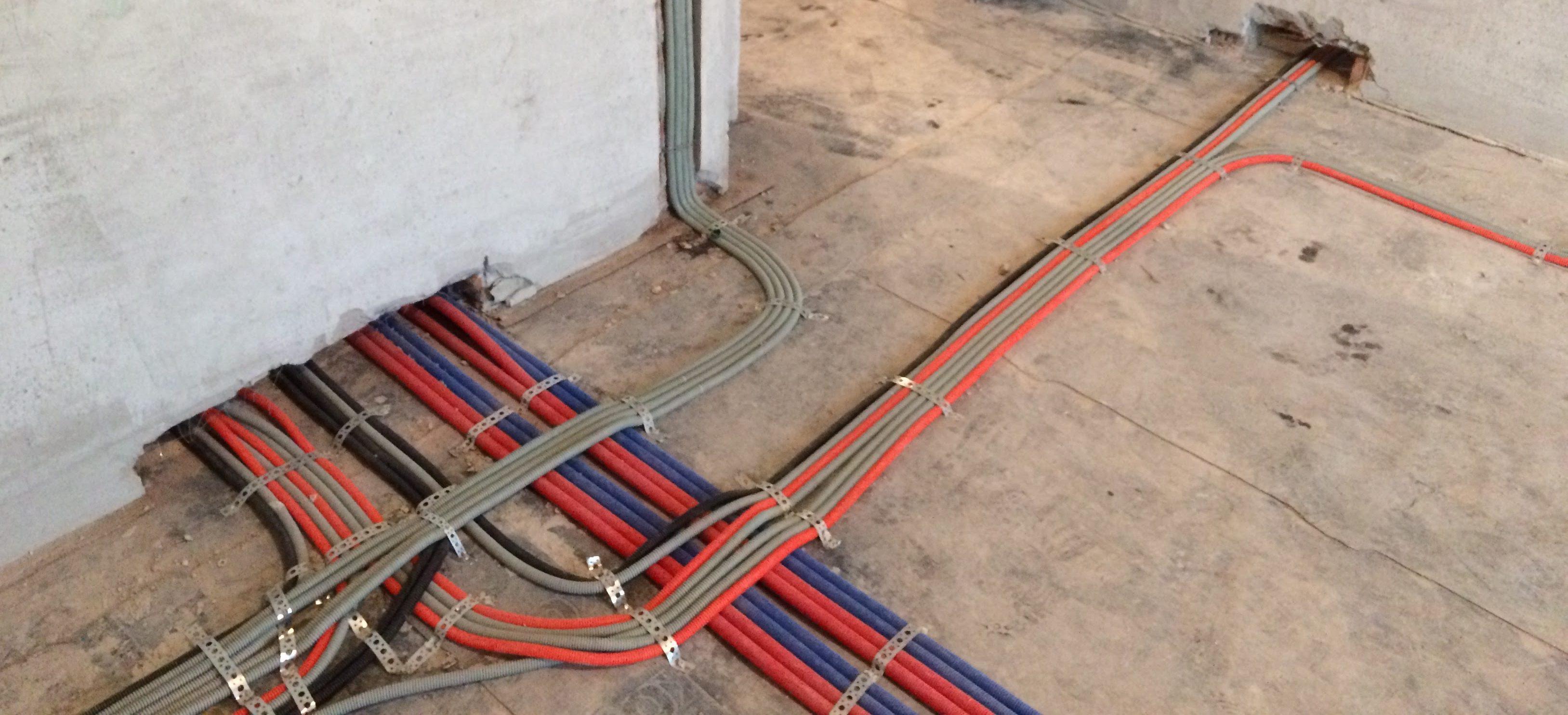 Правила прокладки электропроводки в квартире