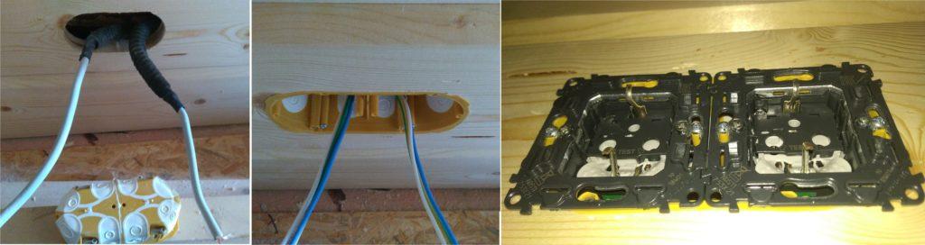 самому построить дом электропроводка в каркасном доме