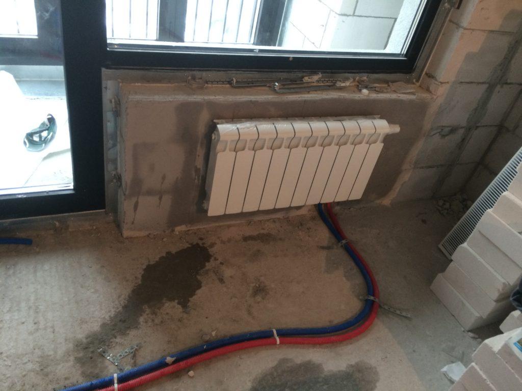 подключение радиаторов отопления при лучевой разводке